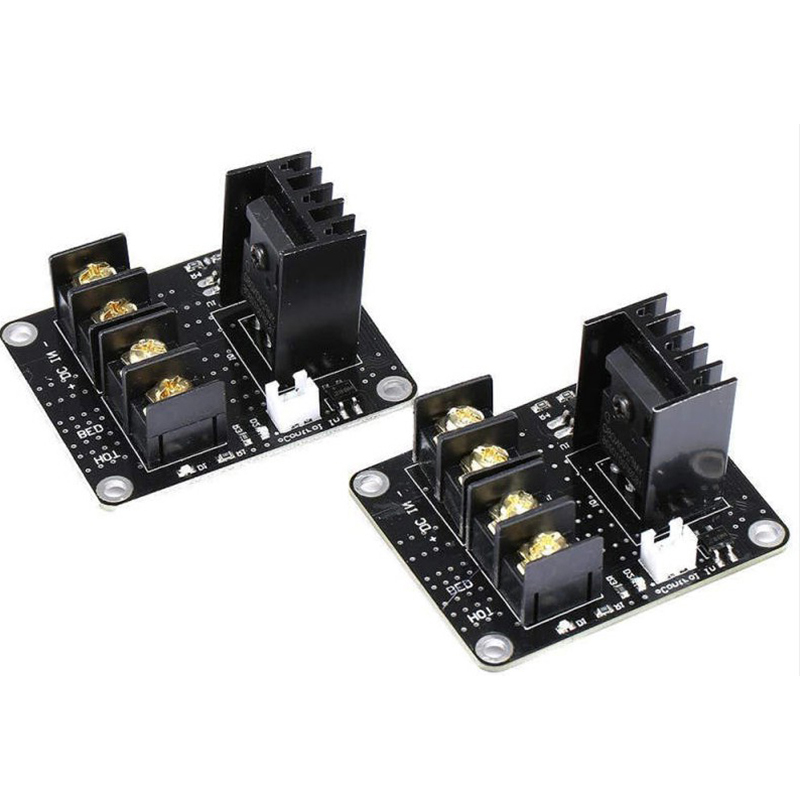 2pcs Black ANET A8 MOSFET Board Upgrade For 3D Printer Heated Bed Power Modules Supplies in 3D Printer Parts Accessories from Computer Office