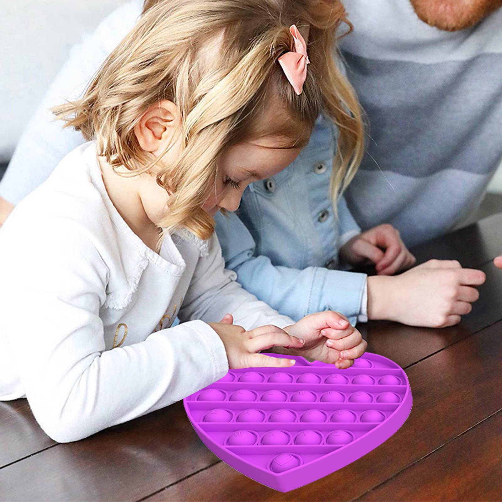 Fidget-Toys Needs-Stress Poppit Special Simple Dimple Love-Push Sensory-Toy Reliever img4