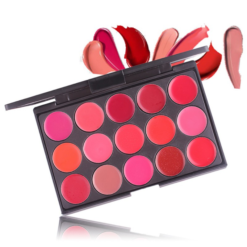<font><b>Miss</b></font> <font><b>Rose</b></font> <font><b>Matte</b></font> <font><b>Lipstick</b></font> <font><b>Set</b></font> Palette Waterproof 15 Color Long Lasting Maquiagem Professional Make Up Lips Stick Makeup Cosmetics image