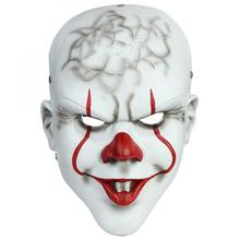 Horror! Halloween Scary Clown Mask Ghost Props Grudge Hedging Zombie Realistic Masks Resin