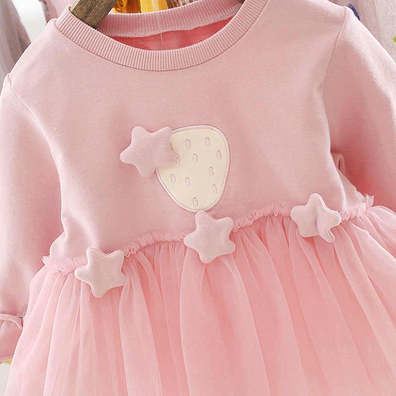 CYSINCOS sonbahar yenidoğan bebek kız elbise kız 1 yıl doğum günü tutu elbise prenses bebek elbise bebek giyim yürümeye başlayan elbiseler