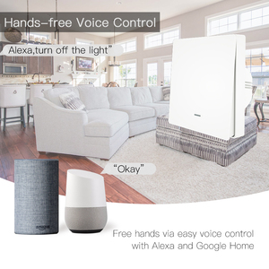Image 3 - WiFi חכם לדחוף כפתור מתג 2 דרך RF433 קיר פנל משדר ערכת חכם חיים Tuya App בקרת עובד עם alexa Google בית