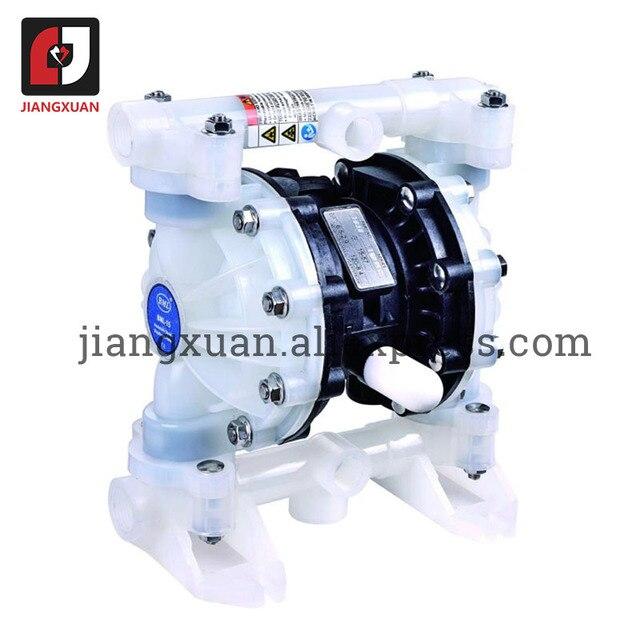"BML 15P 57L/Min1/2"" PP Material PTFE Plastic Air operated Pneumatic diaphragm pump Double Way Liquid BML 15 Diaphragm Pump"