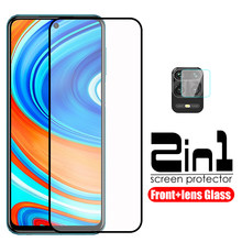 2-in-1 protective glass for xiaomi redmi note 9 pro max protective glass protector xiomi xaomi note 9s note9 s note9 pro film(China)