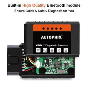 Image 5 - Mini ELM327 Bluetooth OBD2 v1.5 ELM 327 with PIC18F25K80 Chip OBD2 Adapter Elm 327 OBDII Auto Diagnostic Tool OBD2 Scanner