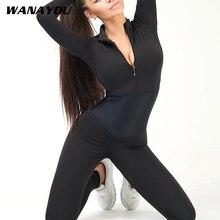 Jednoczęściowy zestaw do jogi Fitness stroje do jogi kobiety Sexy szwy kombinezony wysokiej talii spodnie jogi Fitness legginsy do biegania odzież sportowa
