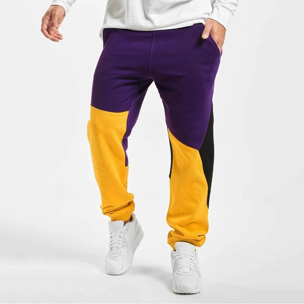 Trousers Long-Pants Jogging Pocket Winter Men Cashmere Loose Waist-Plus Warm Male Men's title=
