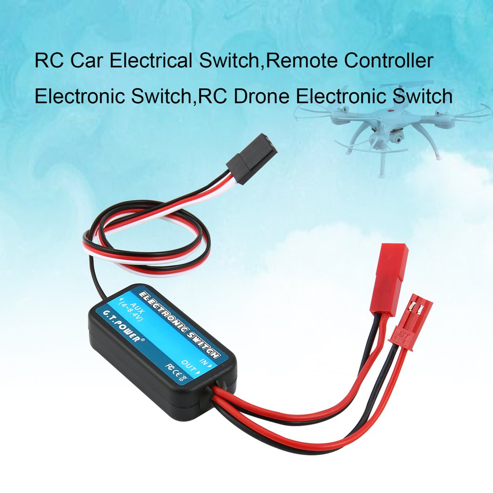 G.T.POWER 0-40V Remote Controller Electronic Switch RC <font><b>Parts</b></font> for RC Aircraft Helicopter Quadcopter <font><b>Car</b></font> Drone Model image