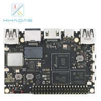 Amlogic A311D-ordenador de placa única con 5,0 TOPS, NPU AI tensorflow x4 Cortex-A73 x2 A53 núcleos, Khadas VIM3 básico SBC