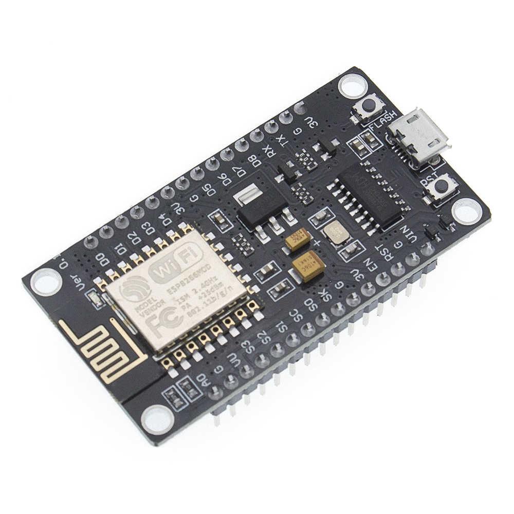 โมดูลไร้สายCH340/CP2102 NodeMcu V3 V2 อินเทอร์เน็ตLua WIFIของคณะกรรมการพัฒนาการจากESP8266 ESP-12E Pcbเสาอากาศ