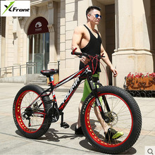 New X-Front brand 27 speed 4.0 fat wide tire snow mobile bike cross country downhill beach mountain