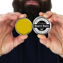 Lanthome 100% Natural Men Beard Balm Moisturizing Repair Split Ends Beard Soften