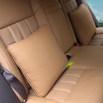 Para Lexus ES200 300h RX200t NX200 CT IS Car Styling asiento reposacabezas descanso del cuello almohada cintura cojín accesorios interiores