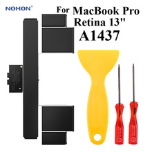 Nohon Laptop Battery A1437 For Apple MacBook Pro 13\