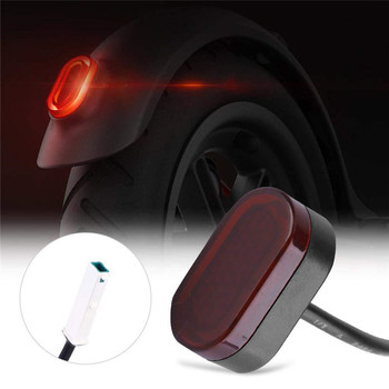 Electric Scooter Tail Light for Xiaomi Mijia M365 M187 Scooter Rear Brake Lamp Stoplight Safety Light Scooter Accessories image