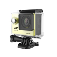 H9R Wifi Camera 1080P Ultra 4K Sport Action Waterproof Travel Camcorder Yellow