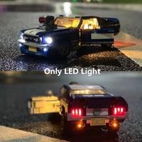 (Only light) LED Light For CREATOR Ford Mustang GT500 1967 1960 Building Blocks Kit Bricks Classic Model Toys 10265 21047|Blocks| |  -