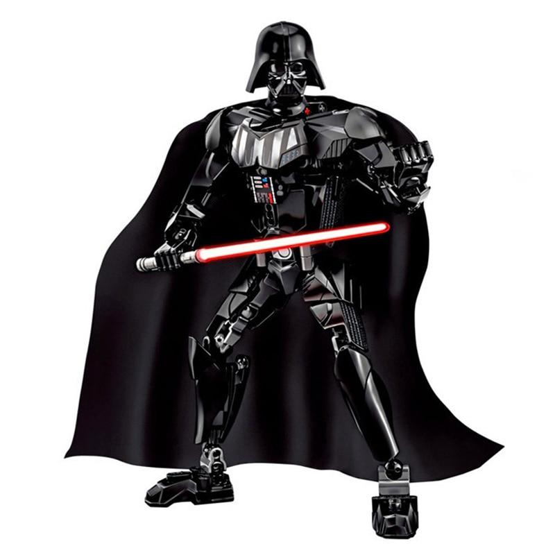 Star Wars Boba Fett Darth Maul Kylo Stormtrooper Phasma Ren Rey Vader Model Assemble Figure Construction Toys For Children 30