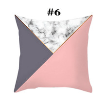 Case geometric pillow cushion decorative Square pillows cover 45cm*45cm