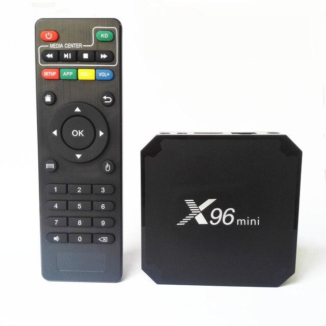 X96 Mini Smart Android Tv Box 2 Gb 16 Gb Android 9.0 Amlogic S905W Quad Core 2.4 Ghz Wifi 1 gb 8 Gb Set Top Box Android 9.0