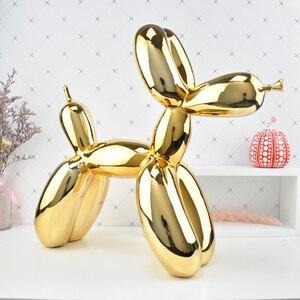 Image 2 - 大バルーン犬の彫刻作品アート現代契約家庭用デスクトップの装飾動物置物ギフト