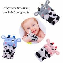 New Hot Newborn Baby Gloves Cute Safety Silicone Baby Milk S