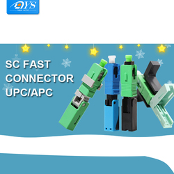 FTTH SC APC Optical fiber covered wire SC UPC quick connector FTTH Fiber Optic Rapid Connector SC Embedded Connectors