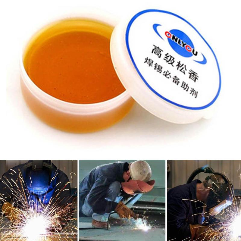 Mild Rosin Soldering Flux Paste Non-Spill Paste Solid Solder Wire Welding Repair Tool Durable Liquid Paste Soldering Flux