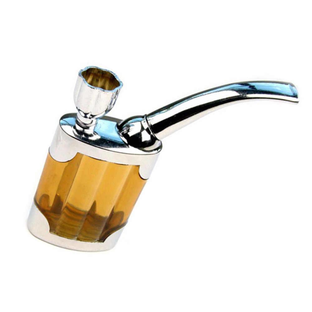 المحمولة الراتنج المياه التدخين الأنابيب النرجيلة الصغيرة التبغ عشب الشيشة الشيشة حامل الحاويات تصفية التدخين اكسسوارات