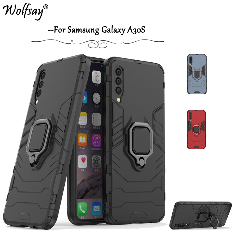 <font><b>For</b></font> <font><b>Samsung</b></font> Galaxy <font><b>A30S</b></font> <font><b>Case</b></font> <font><b>Shockproof</b></font> Armor Silicone Cover Hard PC Phone <font><b>Case</b></font> <font><b>For</b></font> <font><b>Samsung</b></font> Galaxy <font><b>A30S</b></font> Cover <font><b>For</b></font> <font><b>Samsung</b></font> <font><b>A30S</b></font> image