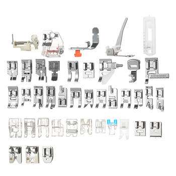 New 42pcs Professional Domestic Sewing Machine Presser Foot for Sewing Machine Accessories for Singer Janome Brother Blind Stitc