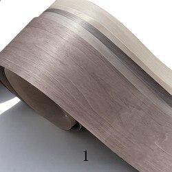 2x Natuurlijke Echt Geverfd Valnut Hout Fineer voor Meubelen 20cm x 2.5m 0.2mm dik Licht Grijs Zwart Meubelaccessoires Meubilair -