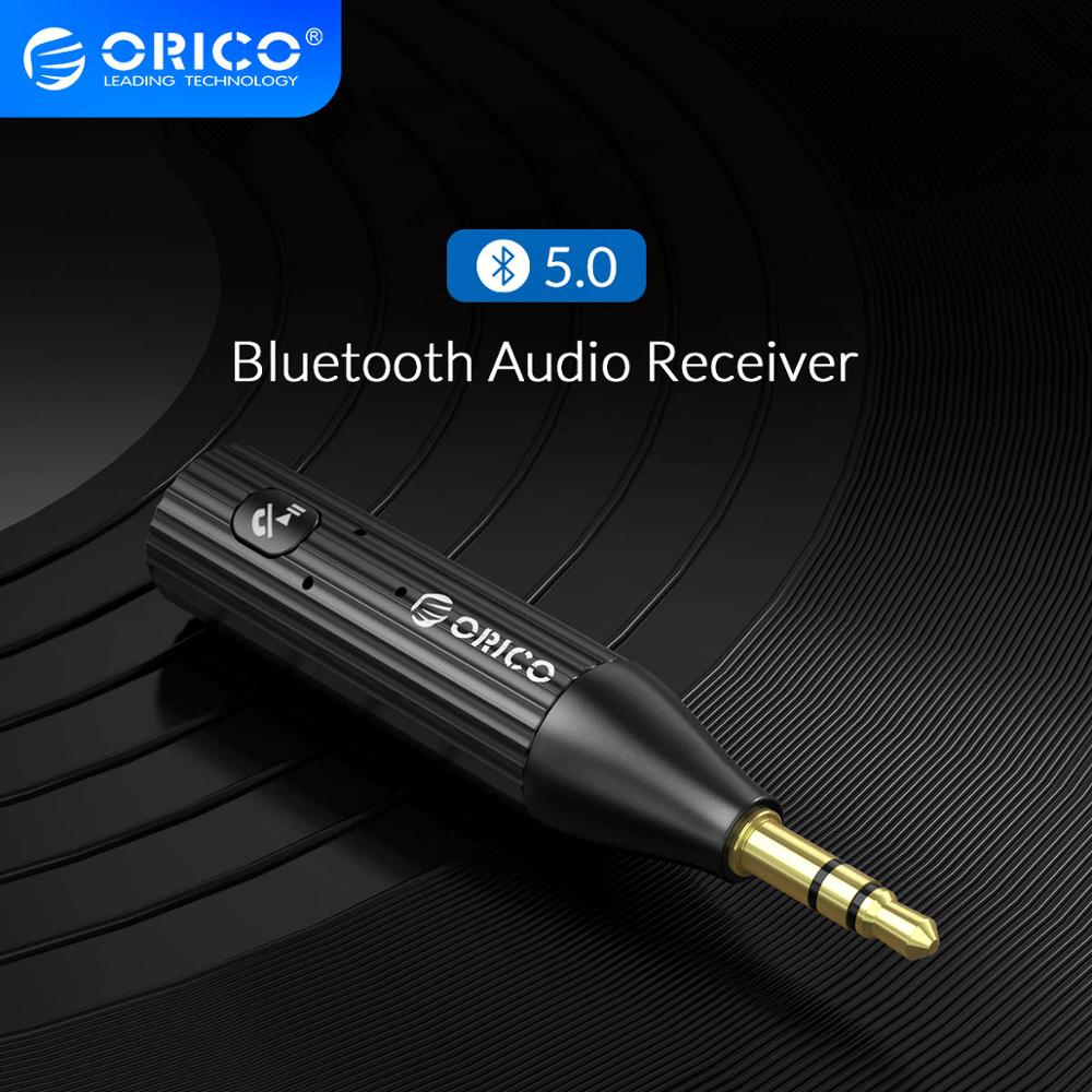 ORICO Bluetooth 5.0 + EDR Receiver 3.5mm Car Aux 3.5mm Jack Stereo Adapter Music Headphone Wireless USB Bluetooth Audio Receiver