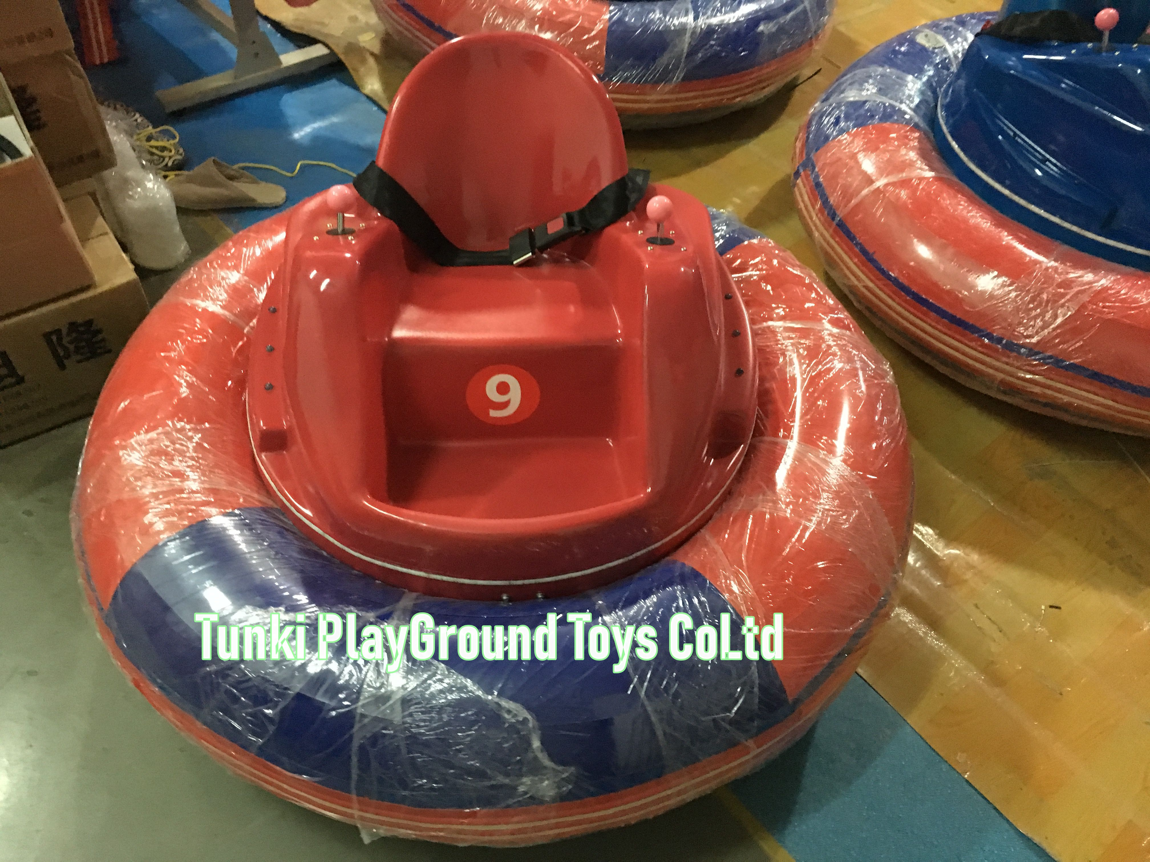 Funny Kids Battery Operated Bumper Cars For Park
