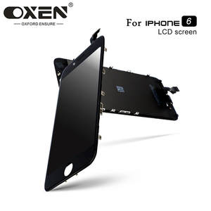 OXEN AAA+++ LCD Display for iPhone 6 Replacement Color LCD Touch Screen Digitizer Assembly No Dead Pixel + Tools