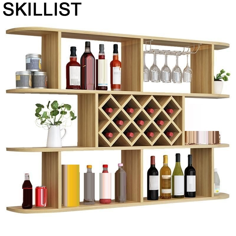 Rack Adega Vinho Storage Cocina Mobilya Armoire Desk Shelves Mesa Meja Mueble Commercial Shelf Bar Furniture Wine Cabinet
