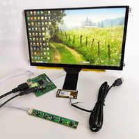 Pantalla de 11,6 pulgadas táctil capacitiva kit de módulo de IPS HDMI compatible con LCD módulo 10 puntos táctil capacitiva módulo Raspberry Pi