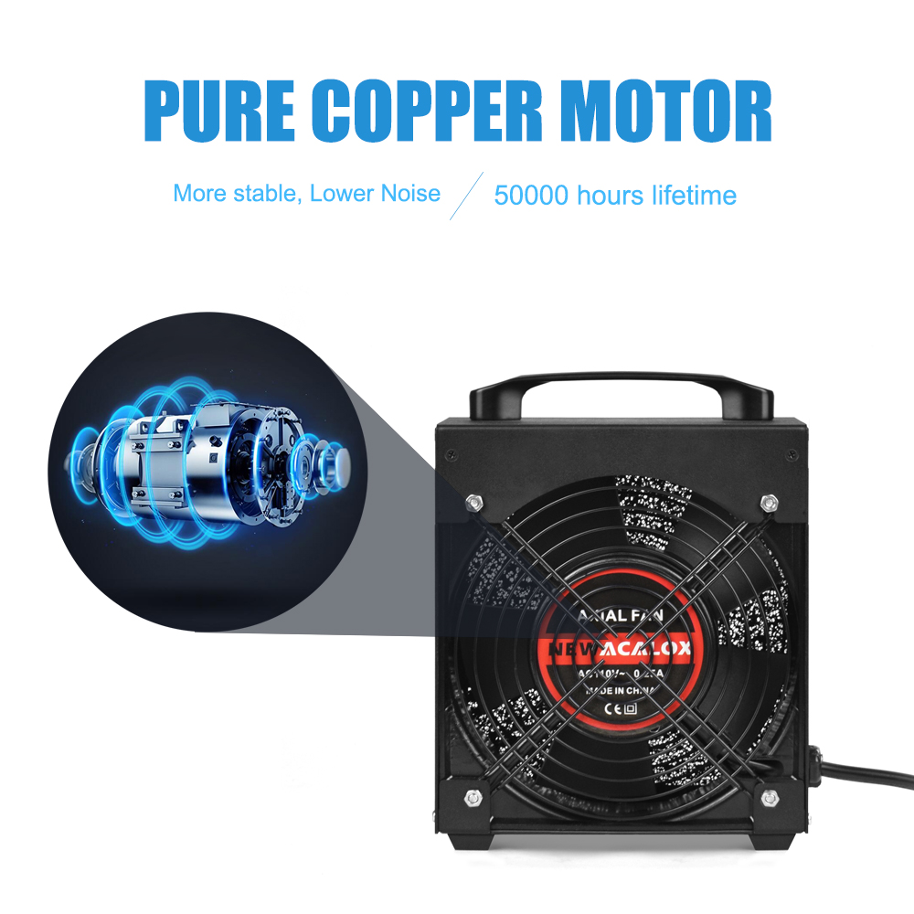 Tools : NEWACALOX Solder Smoke Absorber Remover Fume Extractor Smoke Prevention Absorber 30W EU US Smoking Device Air Filter Fan