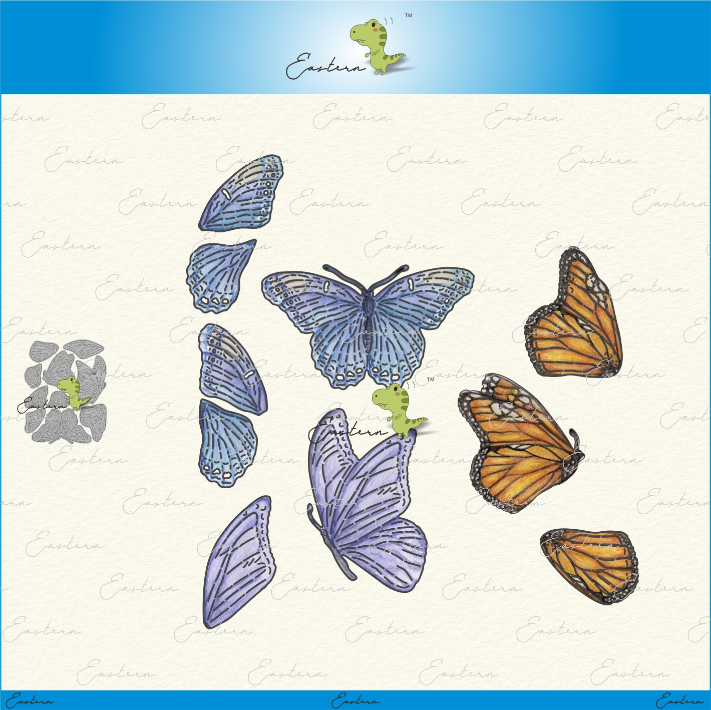 Beautiful butterfly cutting dies new 2020 metal mould scrapbooking