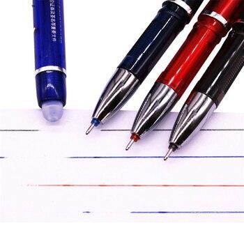 144 Pcs Magic Gel pen 0.5mm Four-color refill Erasable Pen Stationery Gift Pen Promotion Pen Length 150mm Student Office 1
