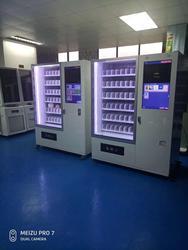 Koude Drank Mechandiser, Glazen Front Combo Automaat Drankjes En Snacks Automaat Kast Met Lift Systeem