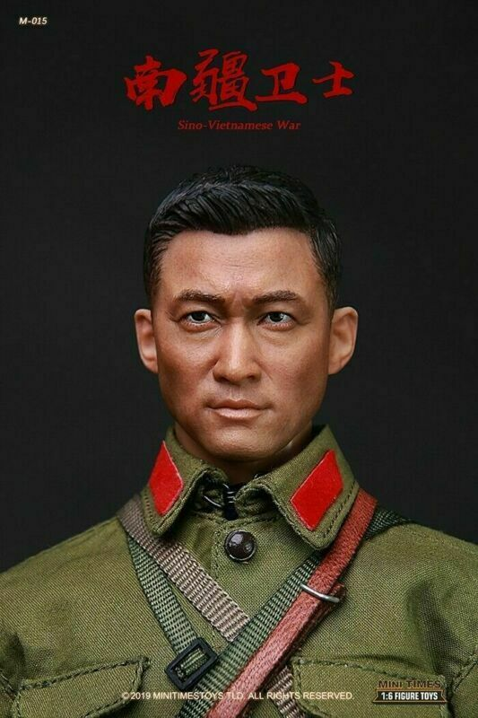 1//6 Scale Soldiers Model China PLA Sino-Vietnames War Head Carving Head Sculpt