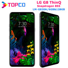 Lg G8 Thinq LM-G820N Originele Ontgrendeld Lte Android Telefoon Snapdragon 855 Octa Core 6.1