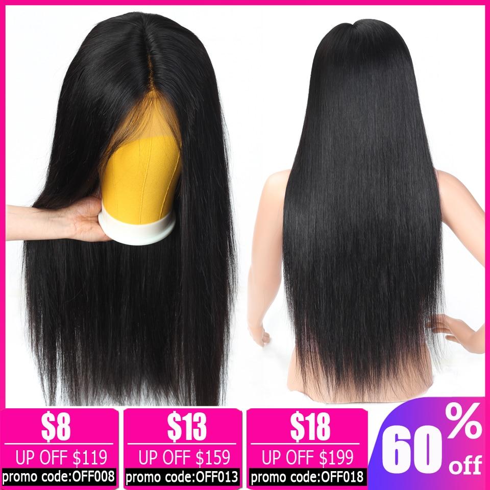 Brazilian Straight Lace Front Wig Short Bob Lace Front Wigs 13x4 Lace Front Human Hair Wigs For Women Non-remy  Free To Brazil