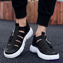 Summer Breathable Sneakers Casual Shoes Mens Soft Black