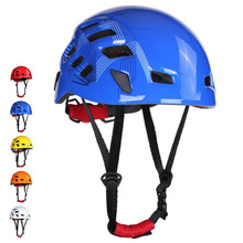 Ventilated-Helmet Construction Work-At Safety Hard-Hat for Height-Adjustable EPS Foam-Cushioning