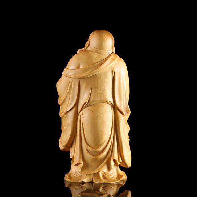 Statue Porte-Bonheur Sculpture Bouddha Rieur