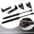 Для Toyota Hilux Vigo Pickup 2005-2014 2x автомобильный Стайлинг передний капот модифицирует газовые стойки для подъема амортизирующий амортизатор