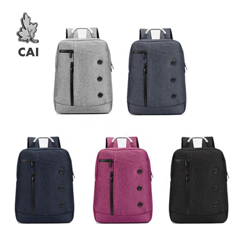 CAI Fashion Waterproof School Backpack Rucksack Business Travel Bag 14