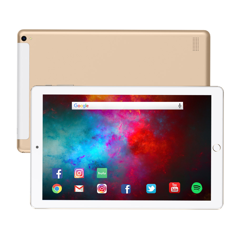 NEW 10.1 Inch Tablet Pc Quad Core Touch Tablet 2019 Tablet Android 3GB RAM 32GB ROM IPS Dual SIM Phone Call Tab Phone Pc Tablets